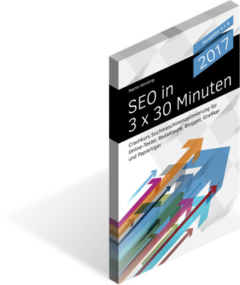SEO in 3x30 Minuten, E-Book 2017