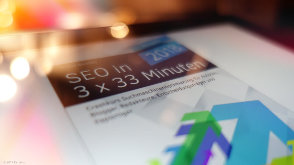 E-Book: SEO in 3 x 33 Minuten